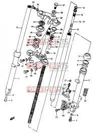 suzuki rg50 d 33 front fork (model d f no 111266~ model e f g j 2012 Chevy Truck Wiring Diagram suzuki rg50 d 33 front fork (model d f no 111266~ model e f g j)
