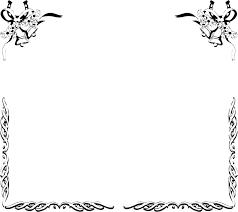 ウエディング フレーム イラスト 7331 イラス
