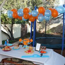 make your own birthday banner octonauts birthday party including links to printables and tips to