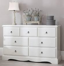 Marvelous Romance TRUE White Large Chest Of Drawers. Large 3 Over 4 French Chest Of  Drawers. FULLY ASSEMBLED: Amazon.co.uk: Kitchen U0026 Home