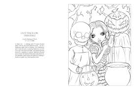 interior pages from the jasmine becket griffith coloring book