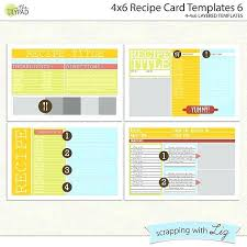 Index Card Recipe Template Postcard Template Word Fresh Digital Scrapbook Templates