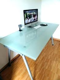 office desk table tops. Frosted Office Desk Table Tops