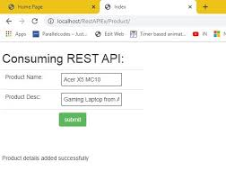 asp net mvc how to use rest api