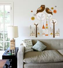 wall decoration with wall decal 70