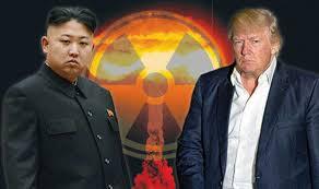 Image result for kim vs trump