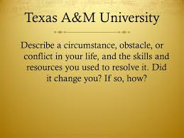sample college essay prompts ppt 7 texas a m university