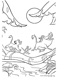 Small Picture Have fun coloring this beautiful scene from the movie The Lion