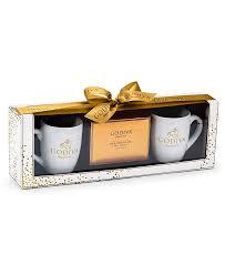 Includes mug, hot cocoa, marshmallows, and cinnamon powder. Godiva Hot Cocoa Mug Gift Set Reviews Food Gourmet Gifts Dining Macy S