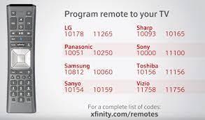 program a comcast xfinity x1 remote