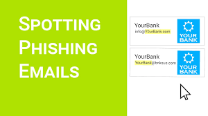 Spotting Phishing Emails