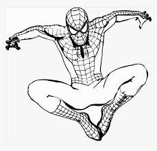 spiderman cartoon drawing hd png