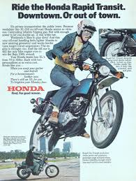 vintage honda motorcycle ads. honda xl350 rapid transit bike 1976 ad picture vintage motorcycle ads e
