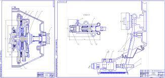 Курсовые и дипломные работы автомобили расчет устройство  Курсовая работа Расчет сцепления автомобиля ВАЗ 2101