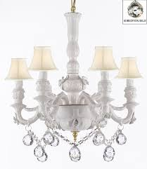 authentic capodimonte white porcelain chandelier made in italy com