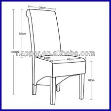 standard dining room chair height dining chair dimensions best style