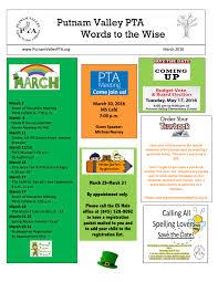 Pta Elections Flyer Putnam Valley Pta