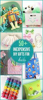 50 diy gift ideas for kids on lilluna com a cute and