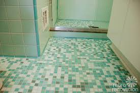 bathroom remodel tile floor. Mid-century-modern-tile-floor Bathroom Remodel Tile Floor