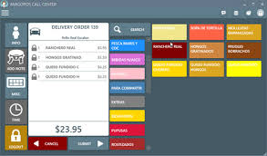 Call Center Restaurant Pos Point Of Sale Touchscreen Software