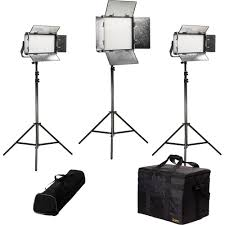 Led Light Kit Ikan Rayden Daylight 3 Point Led Light Kit With 1 X Rw10 And 2 X Rw5