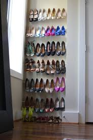 Diy shoes designs Acrylic Renter Friendly Diy Storage Idea From Tension Rods Grillo Designs Wwwgrillodesigns Grillo Designs 15 Clever Diy Shoe Storage Ideas grillo Designs