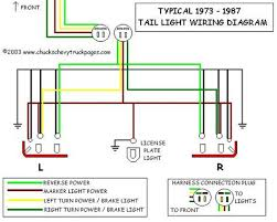 91 s10 tail light wiring diagram 91 S10 Wiring Diagram Chevy Horn Relay Wiring Diagram
