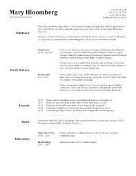 Resume Templates For Openoffice Resume Templates For Open Office ...