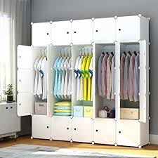 closet organizer target. Closet Clothes Organizer Portable Wardrobe Bedroom Storage With Doors Cube White Target