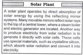 the non conventional sources of energy present in essay solar energy can be converted into thermal energy the help of solar collectors and receivers solar thermal devices can be used for water heating