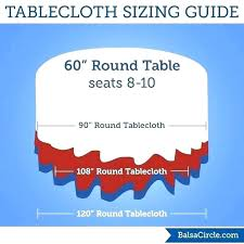 what size tablecloth for 60 round inch plastic ch tablecloths x regarding decorations 30 table