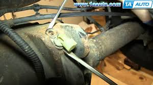 how to install replace rear axle abs sensor ford f