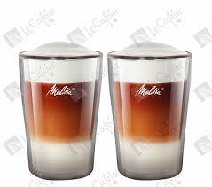 Купить <b>Чашки для Латте</b> Макиато Melitta, двойное стекло, <b>300</b> мл ...