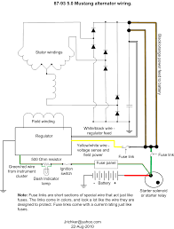 2 wire alternator wiring diagram for delcosi onewire jpg and one 15 electrical 2g alternator wiring mustang forums at stangnet 15