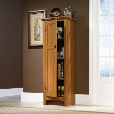 Oak Kitchen Pantry Cabinet Gorgeous Food Pantry Cabinet On Tall Kitchen Pantry Shelf Food