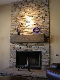 photo 6 of 9 superb fireplace stone surround ideas 6 stack stone fireplace surround more