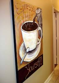 The Modern Artist: Coffee wall decor, coffee collectible art, espresso decor,  coffee paintings, decorations for coffee shop