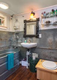 tiny house bathroom. little lou | tiny house swoon, trough bathtub bathroom o