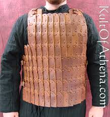 leather lamellar armor