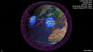 Spacex is manufacturing its starlink satellites at an unprecedented rate for the space industry. Spacex Gives More Details On How Their Starlink Internet Service Will Work Less Satellites Lower Orbit Shorter Transmission Times Shorter Lifespans Universe Today