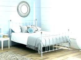 white queen size bed frame. Iron Queen Bed Frame White Size Cheap Metal King .