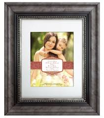 wall frame 11x14 to 8x10 vintage pewter bead