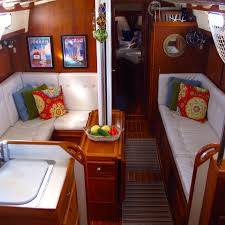 Boat Interior Design Ideas making a boat a home the art of decorating a boat