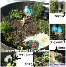 literacy inspired fairy garden suzy homeschooler16