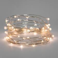 Mini White Light Strings 40 Pack Mini String Battery Lights 20 Led Warm White Silver Wire Waterproof 7 Ft 2m Walmart Com