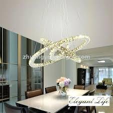 lovely chandelier creative for modern simple line cut crystal light led circular crystal chandelier creative romantic chandelier creative