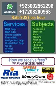 online mba tutor for accounting statistics thesis writing quiz  mobile call 19419004499