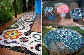15 Easy But Stunning DIY Mosaic Craft Projects For Your Home Decor Mosaic Home Decor