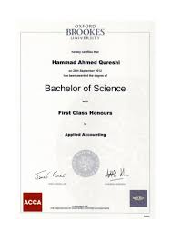 First Class Degree Brookes University Degree 15