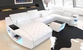 modern leather sofas